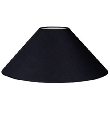 Description large coolie lamp shade regular cotton base dia 550mm top dia 150mm height 275mm diffuser sold separately
